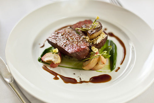 Seared fillet of Casterbridge beef with foie gras 1