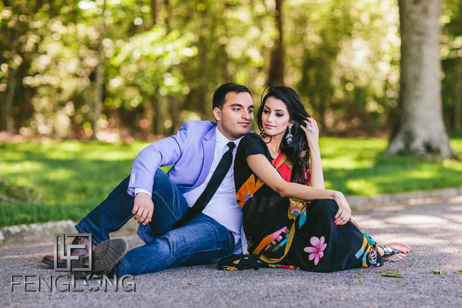 Jennifer & Basit's Engagement Session | Berry College | Atlanta Pakistani Bengali Wedding Photography