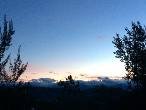Sunrise in Baguio -- for Lou