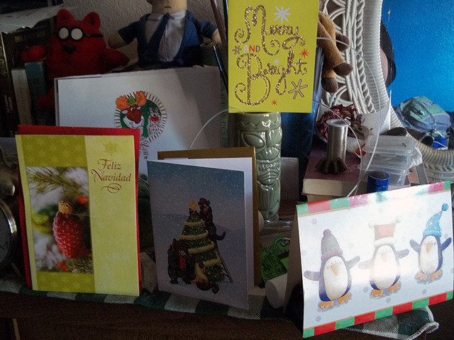My Christmas Card collection