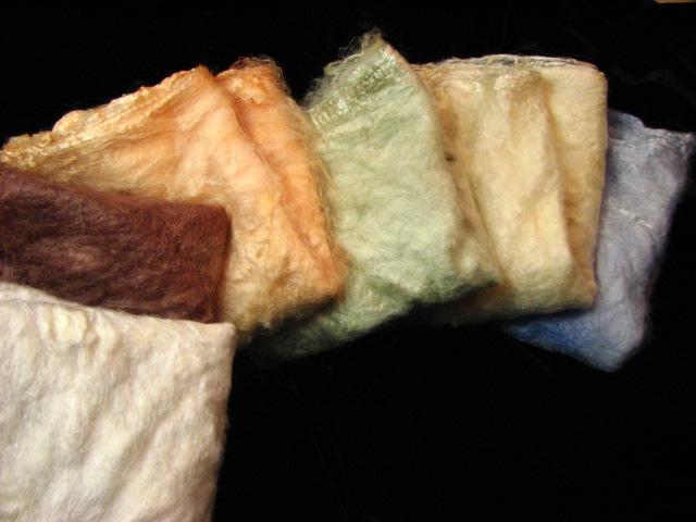 Mineral Ore Silk Hankies