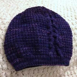 Cabled Soft Hat