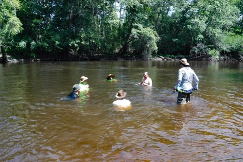 Edisto River Beer Commercial and Rope Swing Float-43