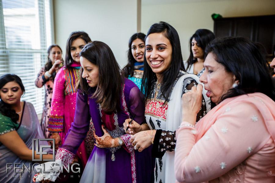 Guests at the Khoba Khobi ceremony