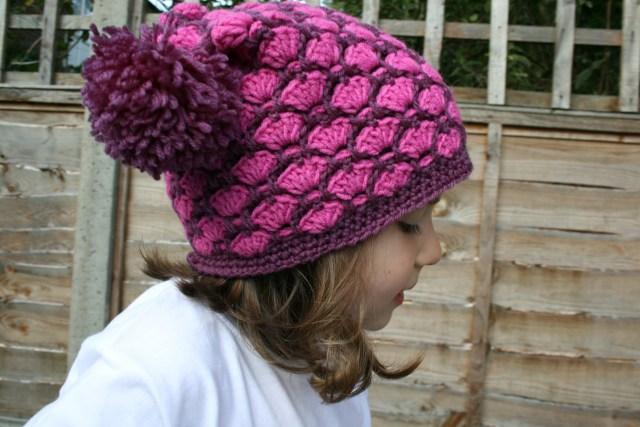 Autumn duo colour hat 8