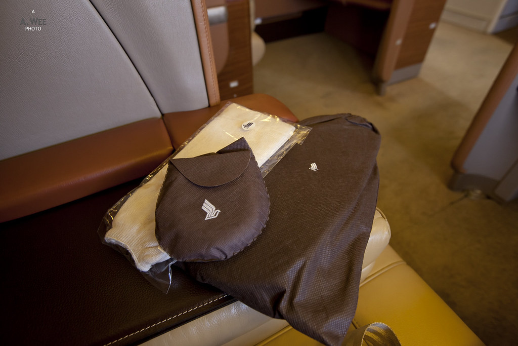 Amenity Kit on the Day Flight