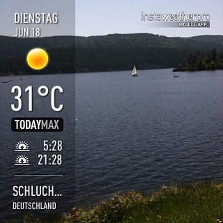 #weather #instaweather #instaweatherpro  #sky #outdoors #nature  #instagood #photooftheday #instamood #picoftheday #instadaily #photo #instacool #instapic #picture #pic @instaweatherpro #place #earth #world #schluchsee #deutschland #day #spring #clear #sk