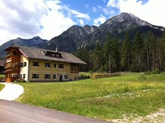 Start in Toblach, Säge, Villa Günther Weg Nr. 16