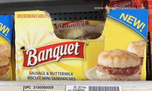 Banquet Sausage & Buttermilk Biscuit