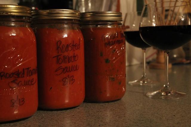 csa share :: week 9 + a late night tomato date.....