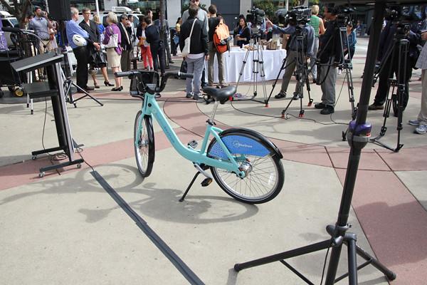 bike share celebrity