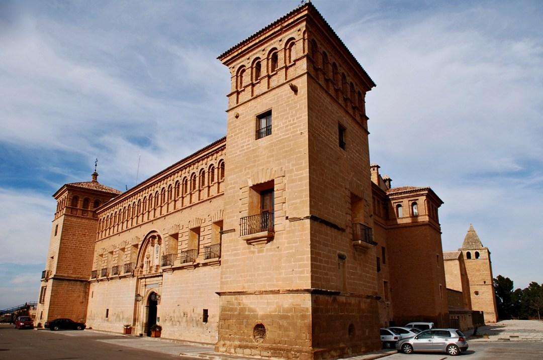 5. Castillo de la Orden de Calatrava en Alcañiz, hoy parador de Turismo. Autor, Druidabruxux