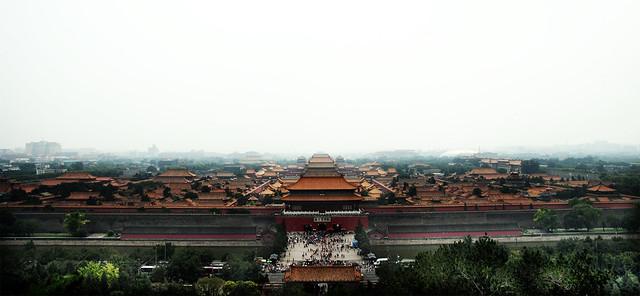 Ciudad Prohibida desde Jingshan