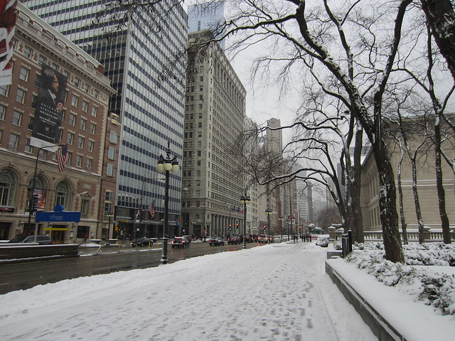 Mag Mile in the snow