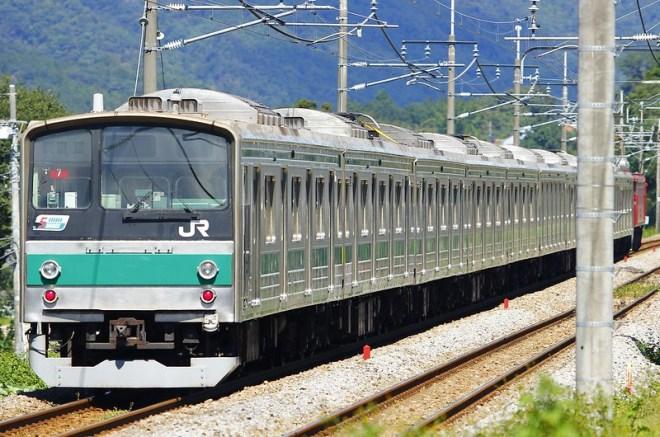 埼京線205系ハエ7編成 海外譲渡輸送