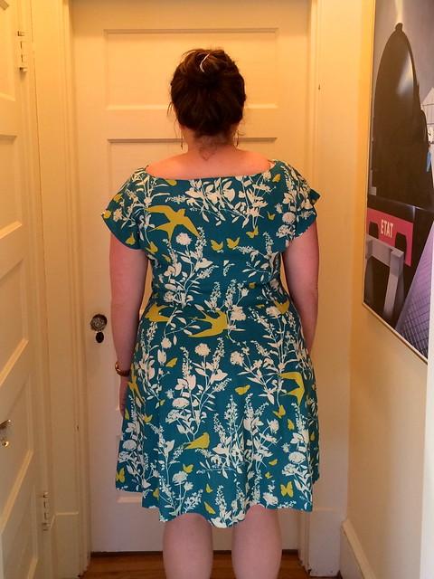 Anna dress, back