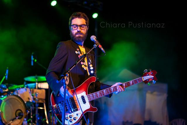 Luca Baldini, bassista di Paolo Benvegnù