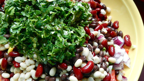 Three Bean Mexi Salad