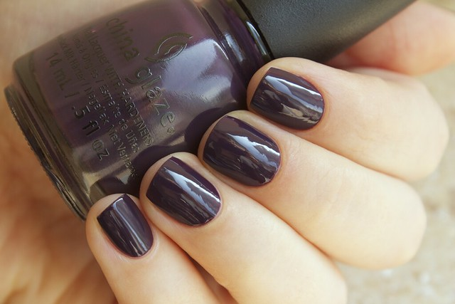 02 China Glaze Autumn Nights Charmed, I'm Sure