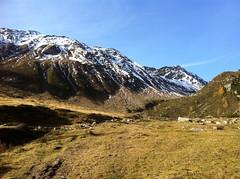Aufstieg vom Neves Stausee zur Edelrauthütte