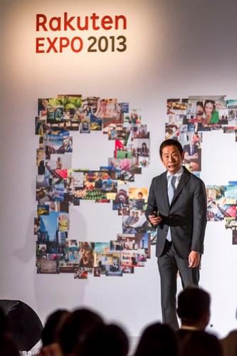 圖說一、樂天亞洲執行長島田亨先生來台參與樂天市場 2013 EXPO 全球巡迴店家大會分享全球電子商務趨勢