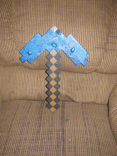 My pickaxe!