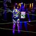 DKL & JALOS bodypainting lightpainting UV session