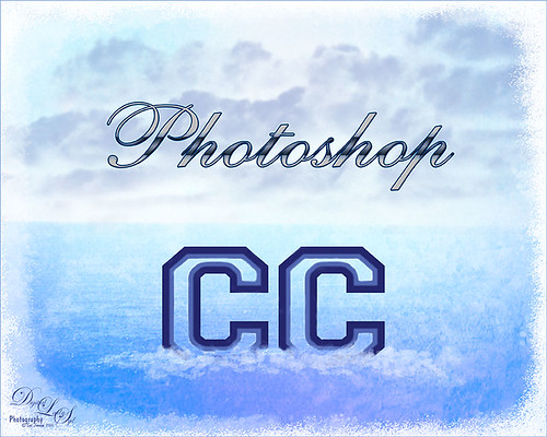 Image of Photoshop CC floating in the water