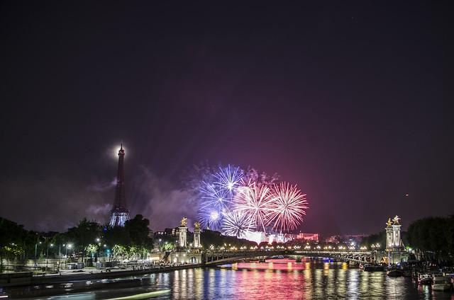Fête Nationale 2013 / Bastille Day 2013 - Pont de la Concorde, Paris