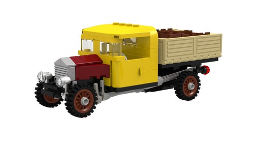 ER0L's Vintage Truck MOD _Rendering 01 by -Nightfall-