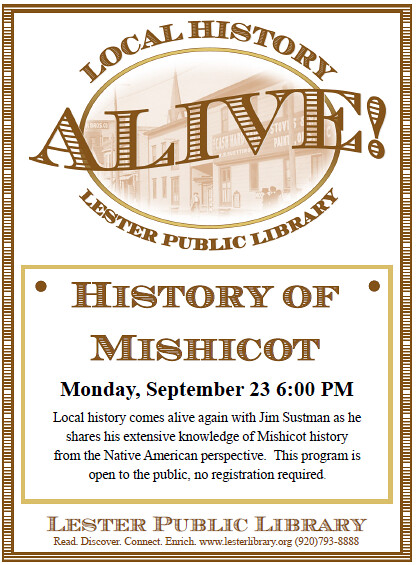 History of Mishicot