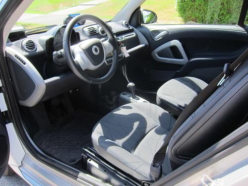 Smart EV interior