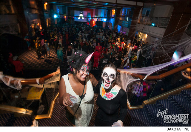 "BYT hosts the ""Twerk or Tweet\"" Halloween party at the Sphinx Club in Washington, D.C. on Saturday, October 26, 2013."