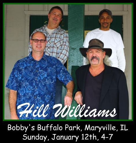 Hill Williams Band 1-12-14
