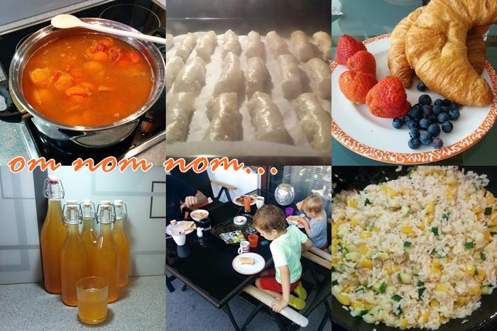 Marillensirup | Blätterteigstangerl | Croissant & Beeren | Frühstück auf der Terrasse | Zucchini Risotto
