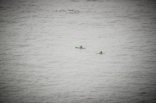 Kayakers from Foulweather Point