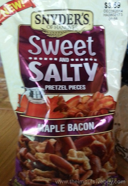 Snyder's of Hanover Maple Bacon Sweet and Salty Pretzel Pieces
