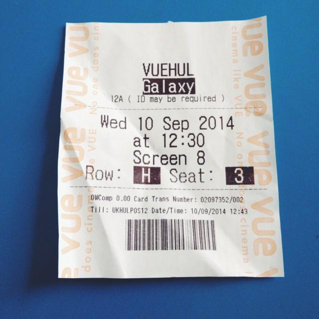 film ticket