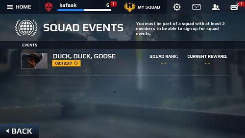 Event ต่างๆ ที่มีให้เลือก