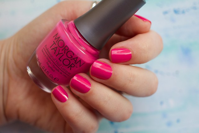 01 Morgan Taylor Tropical Punch swatches