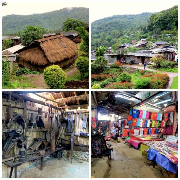 Hmong aldea Chiang Mai