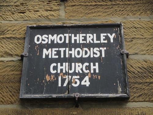 Osmotherley Methodist Church 1754