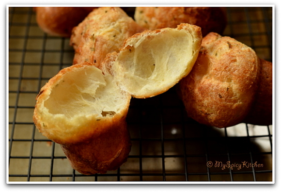 Home Bakers Challenge, Popovers