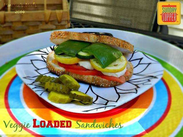 Veggie Loaded Sandwiches (10)p