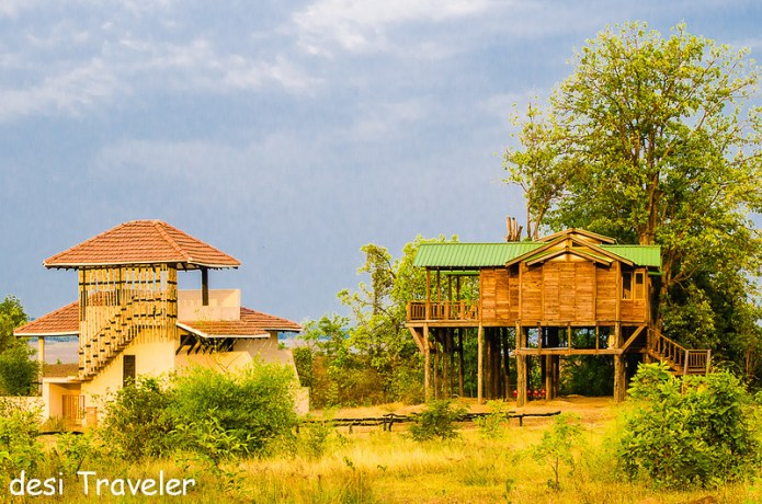 Tree house Denwa Resort Satpura