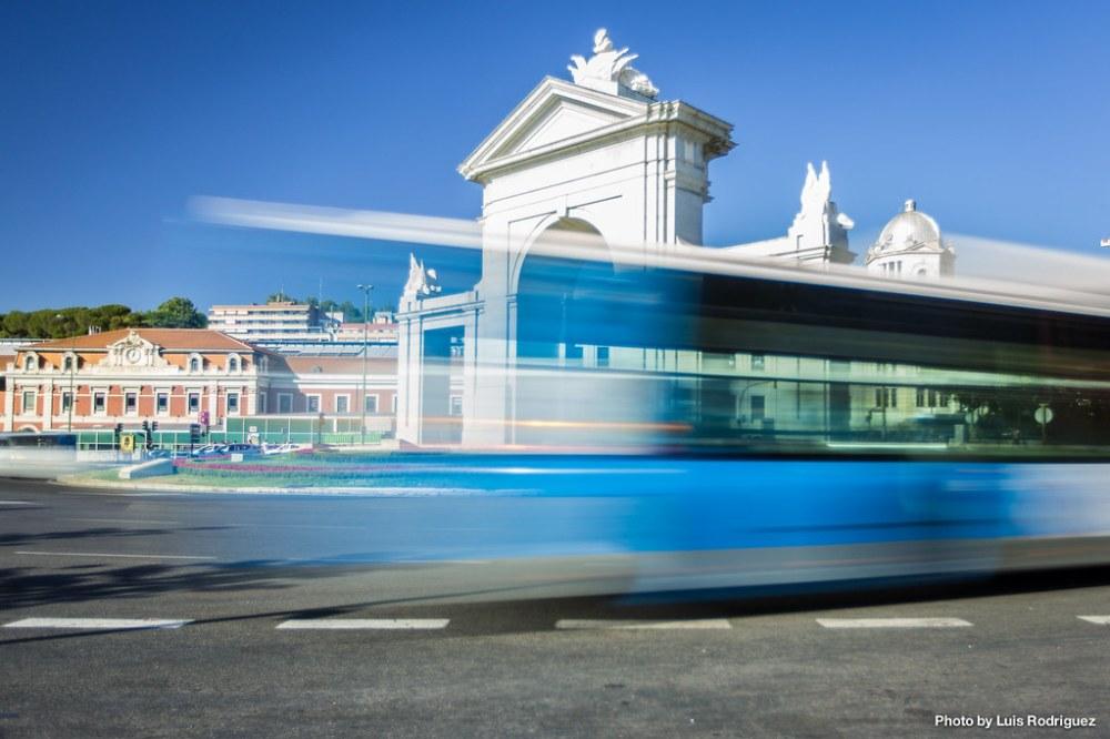Autobús a toda velocidad