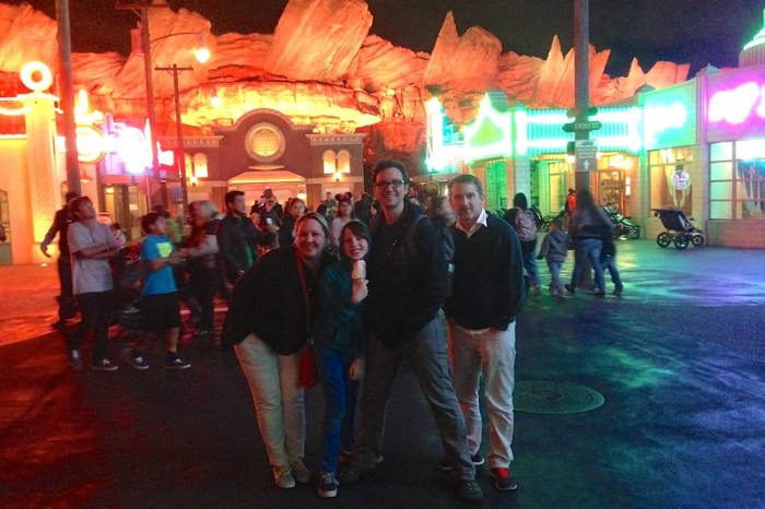 Radiator Springs in Carsland at Disney California Adventure