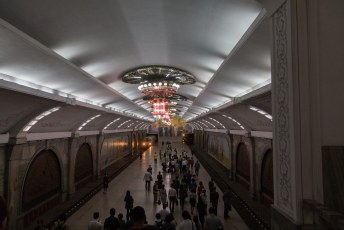De stations (die we te zien kregen) zijn, eerlijk is eerlijk, heel mooi.