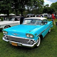 1958 Chevrolet Impala at the 2014 Greenwich Concours