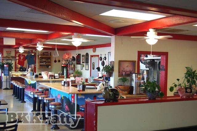 carolina bbq dining room